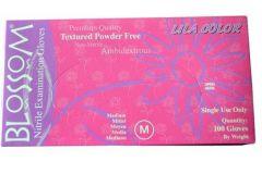 Lilac Powder Free Soft Nitrile Exam Gloves