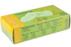 Avocado Green Powder Free Soft Nitrile Exam Gloves