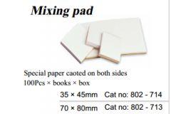 Mixing pad